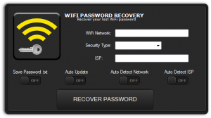 Free WIFI Password Recovery
