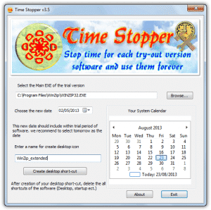 timestopper software