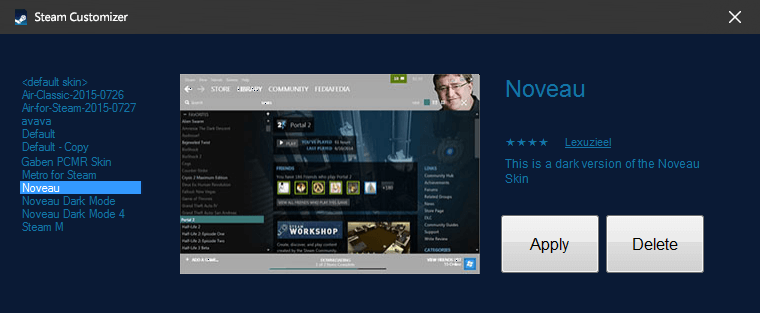 Steam-Customizer-steam
