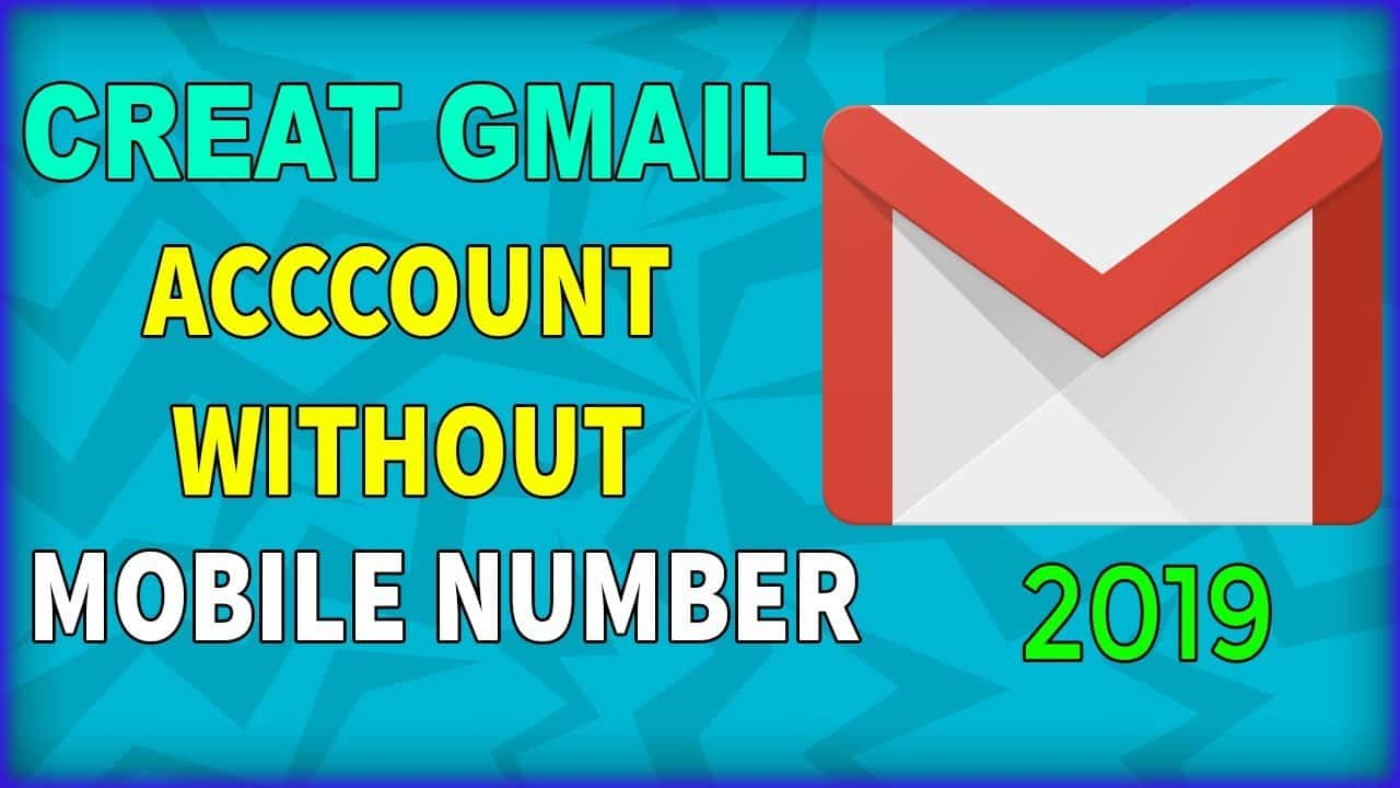 create gmail account without mobile number