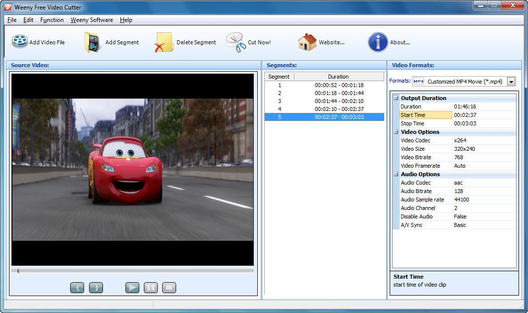 Weeny Free Video Recorder