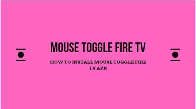 Mouse Toggle Fire TV Apk