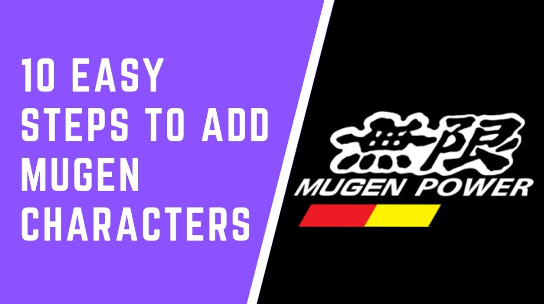 How to Add Mugen Characters