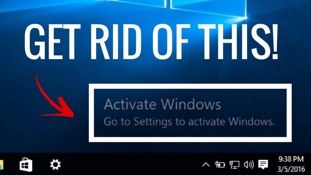 How to Get Rid from Activate Windows 10 Watermark
